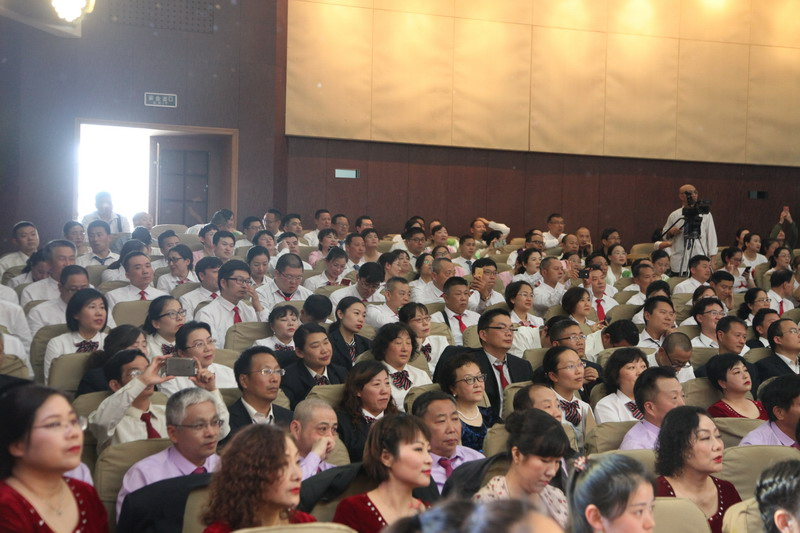 不忘初心跟党走,砥砺前行竞风流——徐州开放大学举办红歌比赛