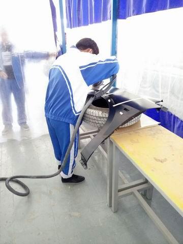 汽车学院校技能大赛简讯