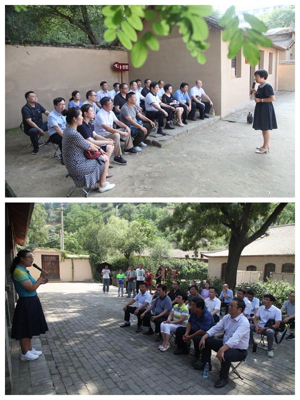 我校组织党支部书记赴延安红色教育基地接受党性教育