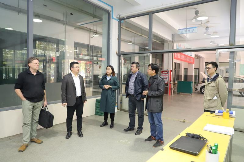 德国专家开展中德诺浩项目支持交流活动