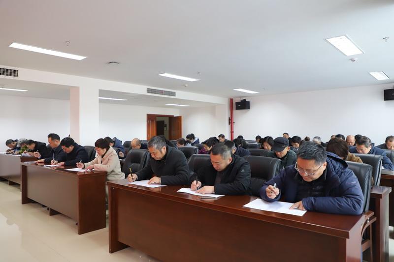 我校纪委组织党员干部开展《政务处分法》常识测试