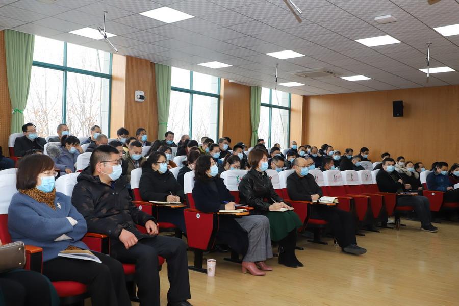 贯彻新发展理念 构建党建引领学校事业高质量发展新格局