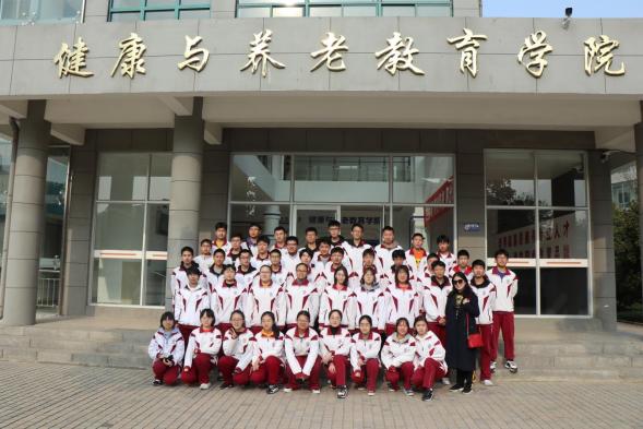 徐州一中学子来我校参加职业体验